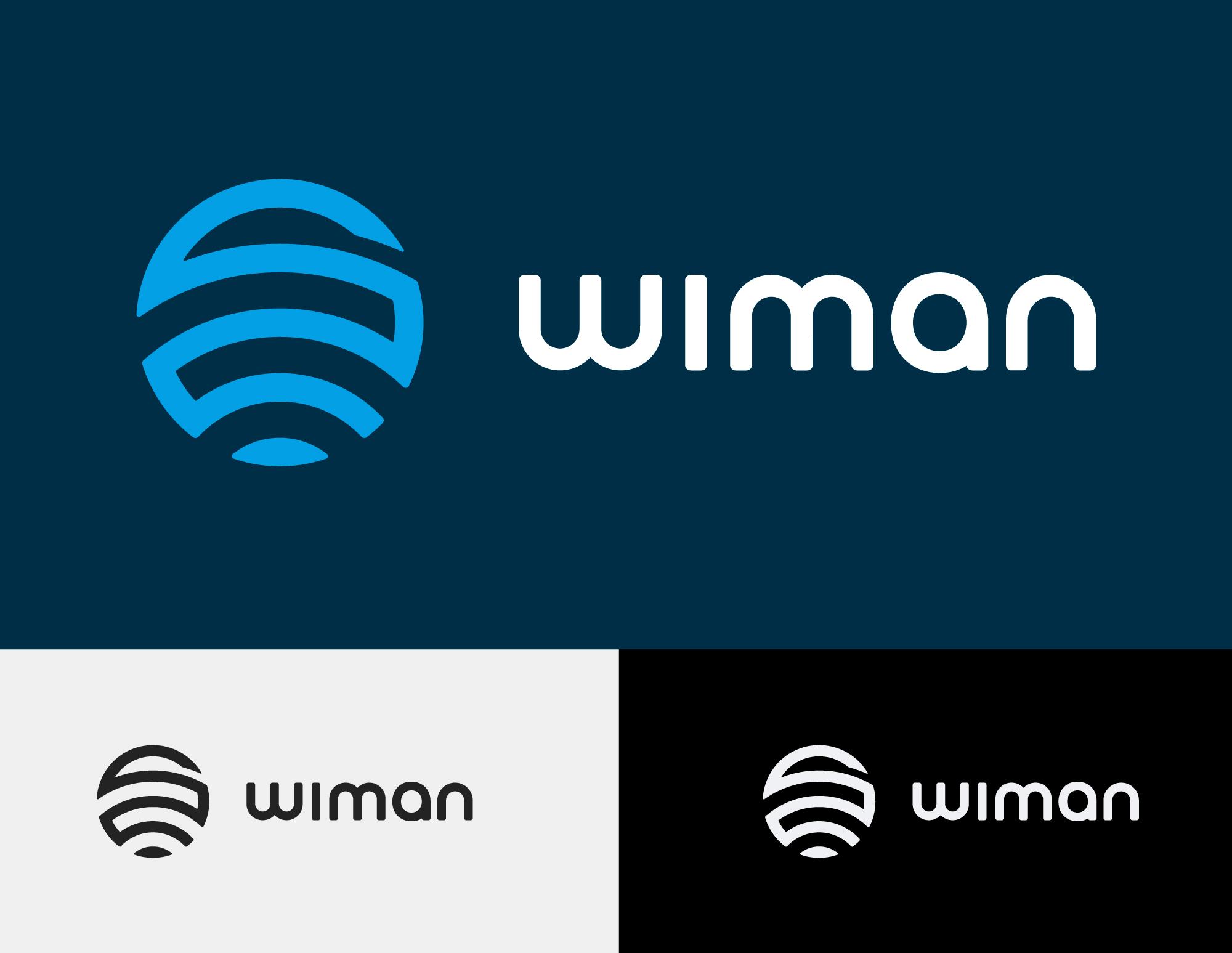 Wiman Logo - Mesh Hub