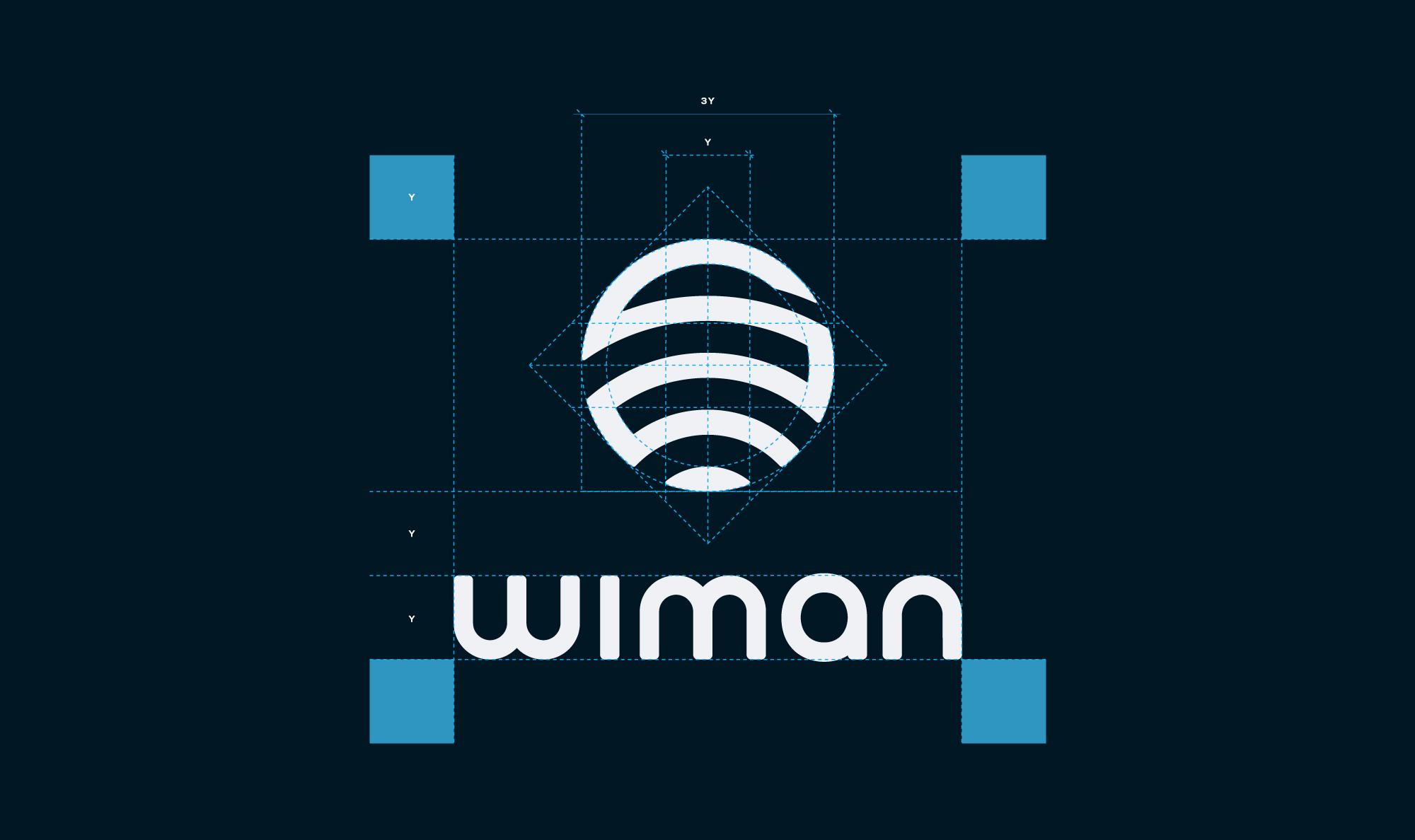 Wiman Construction Logo - Mesh Hub